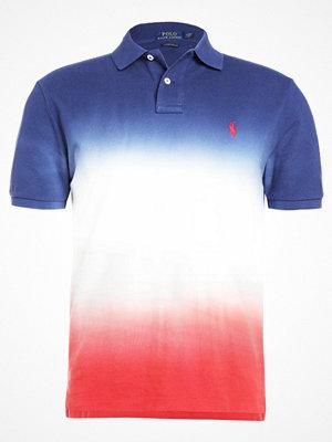 Polo Ralph Lauren CUSTOM SLIM FIT Piké dark cobalt/white/red beret