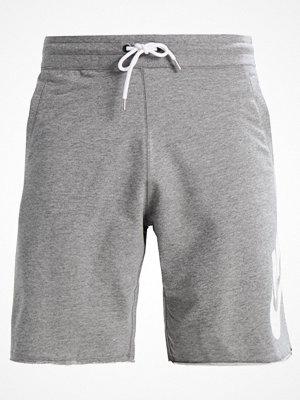 Shorts & kortbyxor - Nike Sportswear Träningsbyxor grau/weiß