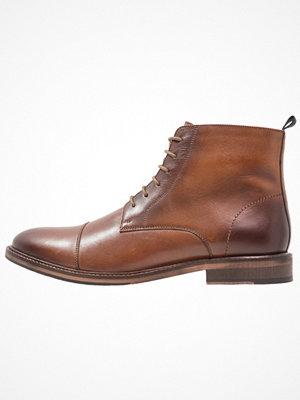 Boots & kängor - Pier One Snörstövletter cognac