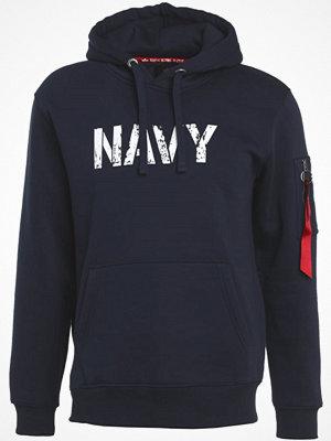 Tröjor & cardigans - Alpha Industries ARMY NAVY  Luvtröja rep blue