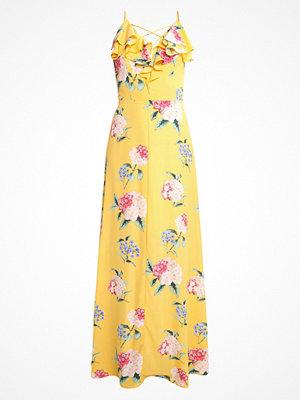 New Look VICKY RUFFLE  Maxiklänning yellow