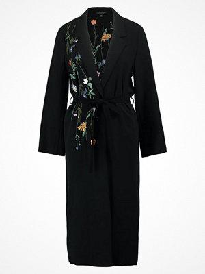 Kavajer & kostymer - Topshop FLORAL DUSTER  Blazer black