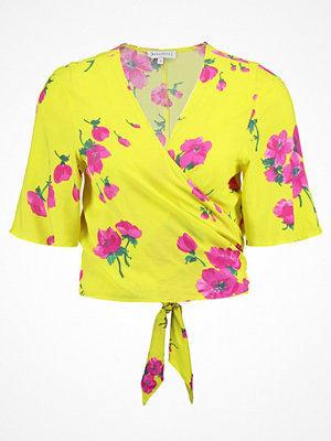 Warehouse DELIA FLOWER TIE BACK  Blus yellow