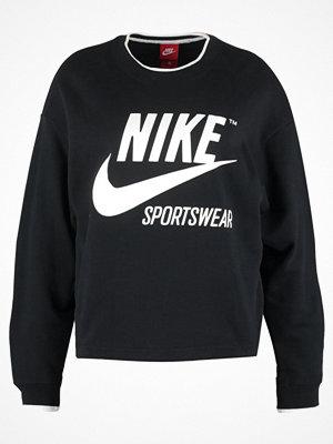 Nike Sportswear CREW ARCHIVE Sweatshirt black