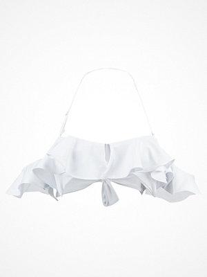 Lavish Alice RUFFLE  Bikiniöverdel white