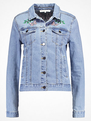 Endless Rose EMBROIDERED PENELIA Jeansjacka denim combo
