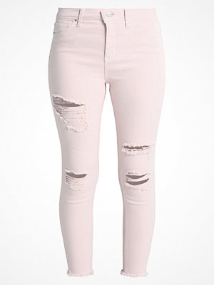 Topshop SUPER RIP JAMIE NEW Jeans Skinny Fit lightpink