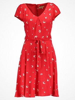 Dorothy Perkins BILLIE BLOSSOM SWALLOW Sommarklänning red