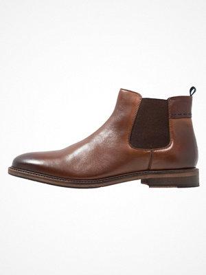 Boots & kängor - Pier One Stövletter cognac