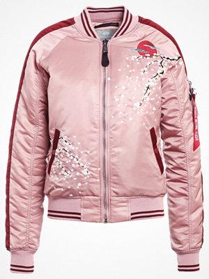 Alpha Industries SOUVENIER Bomberjacka silver pink