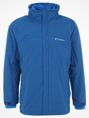 Regnkläder - Columbia MISSION AIR 2IN1 Outdoorjacka marine blue