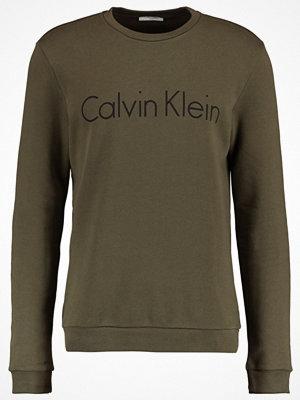 Calvin Klein SEM LOGO CREW NECK Sweatshirt army green
