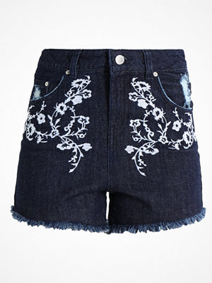 Shorts & kortbyxor - Miss Selfridge Petite Jeansshorts blue
