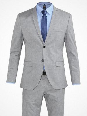 Selected Homme SHDNEWONE MYLOLOGAN Kostym light grey melange