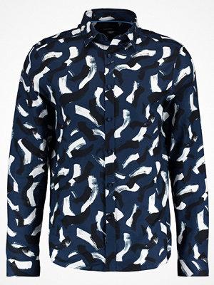 Skjortor - Calvin Klein GALEN PAINT PRINT Skjorta outer space