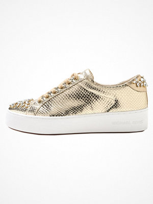 MICHAEL Michael Kors POPPY LACE UP Sneakers pale gold