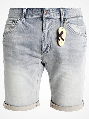 Dstrezzed POCKET Jeansshorts indigo bleach