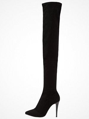 Stövlar & stövletter - Topshop B&B BUBBA HI LEG Klassiska stövlar black
