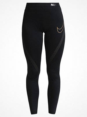 Nike Performance PRO HYPERCOOL Tights black/metallic gold