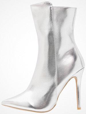 Glamorous Klassiska stövletter silver