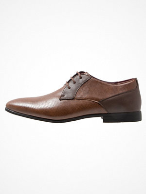Burton Menswear London ROWLAND Eleganta snörskor brown