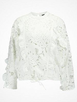 Topshop CUTWORK Blus white