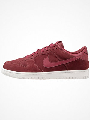 Nike Sportswear DUNK LOW Sneakers dark team red/summit white