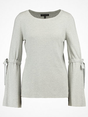 Banana Republic TIE NEW CHERRY Stickad tröja light grey heather