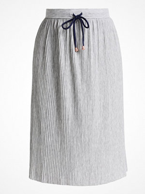 Tom Tailor Denim PLEATED DRAWSTRING Alinjekjol light silver grey