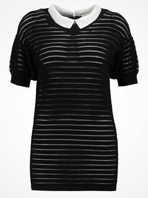 Morgan MLOU Tshirt med tryck noir