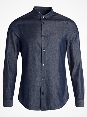 Armani Exchange SLIM FIT Skjorta denim indaco