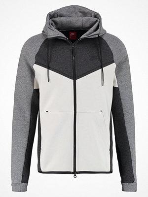 Street & luvtröjor - Nike Sportswear Sweatshirt black heather/light bone/carbon heather/black