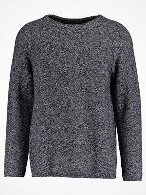 Tröjor & cardigans - Calvin Klein Jeans SARAD Stickad tröja black