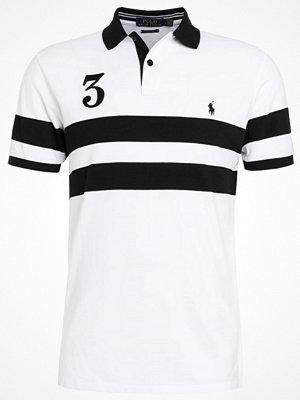 Polo Ralph Lauren SLIM FIT Piké white/polo black