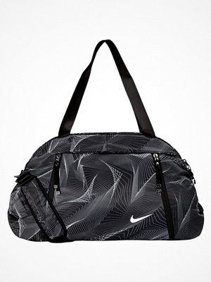 Sport & träningsväskor - Nike Performance AURALUX CLUB PRINT Sportväska black/black/white