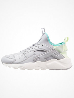 Nike Sportswear AIR HUARACHE RUN ULTRA SE Sneakers wolf grey/barely volt/aurora green/summit white