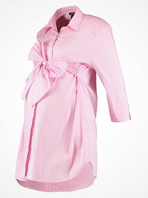 Isabella Oliver DORA STRIPE Skjorta pink/white