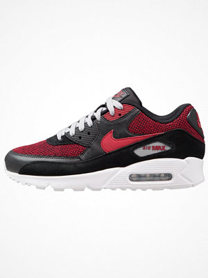 Nike Sportswear AIR MAX 90 ESSENTIAL Sneakers black/tough red/wolf grey/white