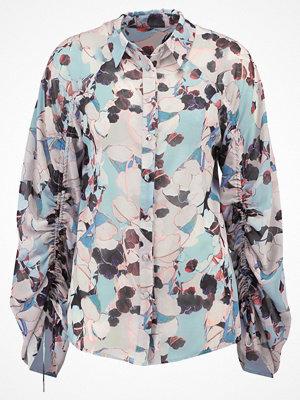Lost Ink BLUEBELL FLORAL DRAWSTRING Skjorta multi
