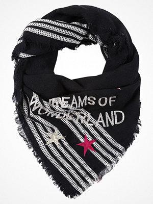 Halsdukar & scarves - Becksöndergaard WONDERLAND Scarf black