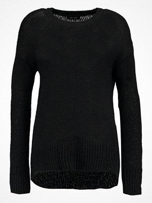 Tröjor - New Look LONGLINE Stickad tröja black