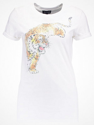 Topshop TIGER GRAPHIC Tshirt med tryck white