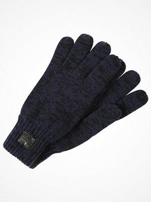 Handskar & vantar - G-Star GStar XEMY Fingervantar dark black/mazarine blue/imperial blue