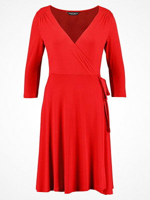 Dorothy Perkins WRAP REPEAT Jerseyklänning red