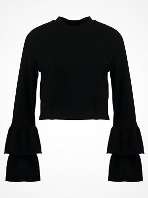 Even&Odd FRILL  Sweatshirt black
