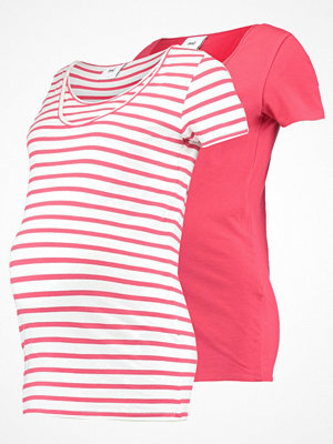 Mamalicious MLLEA 2 PACK Tshirt med tryck tomato puree