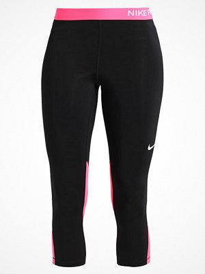 Sportkläder - Nike Performance PRO DRY Träningsshorts 3/4längd black/racerpink