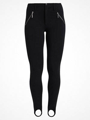 Leggings & tights - Only ONLEVIE ELASTIC STRAP  Leggings black