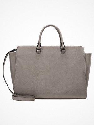 Even&Odd omönstrad shopper Shoppingväska grey