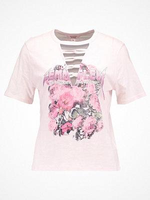 Miss Selfridge Petite ROCK Tshirt med tryck pink
